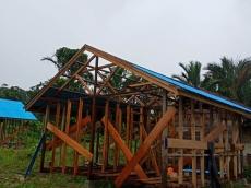 Pembangunan Rumah Warga Gorottai Terus Dikebut