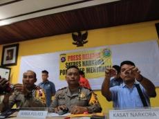Polres Mentawai Sita 4 Paket Sabu dan Jarum Suntik dari Tangan Residivis