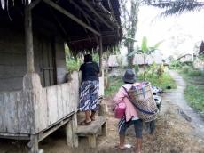 Jalan Evakuasi Tsunami di Tamairang Rusak
