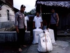10 Kotak Surat Suara di PPK Siberut Utara Rusak