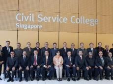 Kepala Bappeda Mentawai Ikuti Studi Administrasi Publik di Singapura