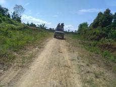 Jalan Trans Mentawai Siberut Tengah Mulai Dikerjakan