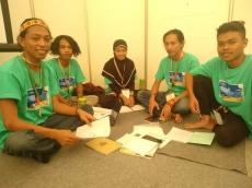 Ikut Kompetisi KBKM Komunitas Sitasimattaoi Presentasikan Ekspedisi Tato Mentawai
