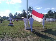 Biasanya Kurang Meriah Tahun Ini Merah-Putih Berkibar di Siberut Utara