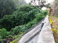 SMKN 2 Kepulauan Mentawai Butuh Turap Pencegah Longsor