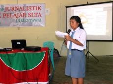 Cetak Jurnalis Muda Puailiggoubat dan MentawaiKitacom Latih Siswa SLTA Mentawai