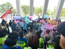 Lahan yang Akan Dieksekusi 5 Hektar Aksi Demo IPPMEN Berakhir Usai Dialog dengan PN Padang