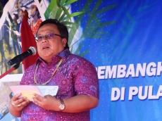 Menteri PPN Resmikan PLTBm Bambu di Mentawai