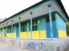 Warga Kritik Pembangunan SDN 17 Simatalu yang Dinilai Asal Jadi