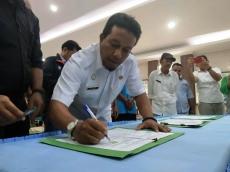 KPHP Mentawai dan Dinas Kehutanan Sumbar Teken Perjanjian Kerjasama Kemitraan Kehutanan
