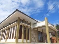 Pembangunan Hotel SMKN 2 Kepulauan Mentawai Sudah Selesai