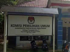 KPU Mentawai Buka Penerimaan Panitia Pemilihan Kecamatan