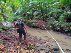 Air Pamsimas di Saumanganya Keruh Diduga Karena Aktivitas Penebangan PT MPL di Hulu