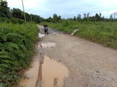 Jalan Poros Trans Taikako Rawan Kecelakaan
