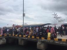 Kapal Cepat Padang-Mentawai Dipadati Pelamar CPNS