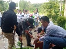 UNBK SMK di Mentawai Guru dan Siswa Diminta Cuci Tangan