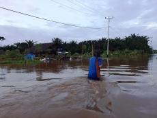 Enam Desa di Siberut Utara Banjir Belum Ada Laporan Kerugian