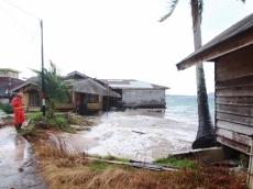 Pemdes Tuapeijat Sudah Lama Peringatkan Warga Tak Dirikan Bangunan Dekat Pantai
