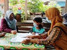 Pastikan Siswa Belajar Wali Kelas Datangi Rumah Siswa