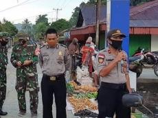 Pasar Masabuk Sikakap Jadi Kampung Percontohan New Normal