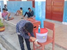 SMP Negeri 1 PUS Terapkan Protokol Covid-19 Penerimaan Murid Baru