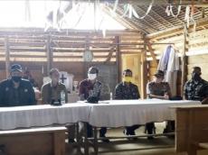 Bupati Mentawai Tinjau Lokasi Pembangunan 40 Unit Rumah Bantuan Kementerian PU PR