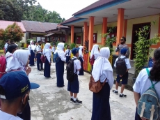 Kapolsek Muara Siberut Minta Guru Ikut Awasi Siswa dari Tindak Kekerasan Seksual