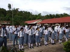 Empat Orang Positif Covid-19 SMAN 1 Siberut Selatan Belajar Jarak Jauh