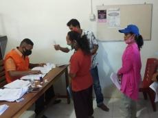 126 KK Desa Maileppet Menerima BST Kemensos