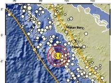 Gempa M51 Guncang Pulau Sipora