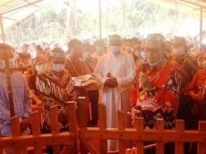 Bupati Mentawai Resmikan Gereja di Madobag