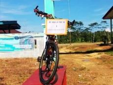 Motivasi Siswa yang Belajar Jarak Jauh Sekolah Hadiahkan Sepeda Gunung