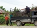 Transportasi Mulai Lancar Warga Pilih Bertanam Pisang
