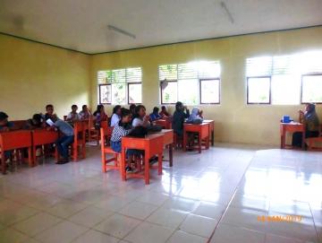 Matangkan Siswa Hadapi UN SMKN 3 Mentawai Lakukan Sekolah Sore