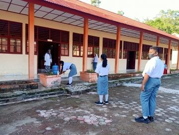 Selama Juli Sekolah di Mentawai Dilaksanakan Jarak Jauh